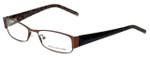 Jones New York Designer Eyeglasses J446 in Brown 52mm :: Custom Left & Right Lens