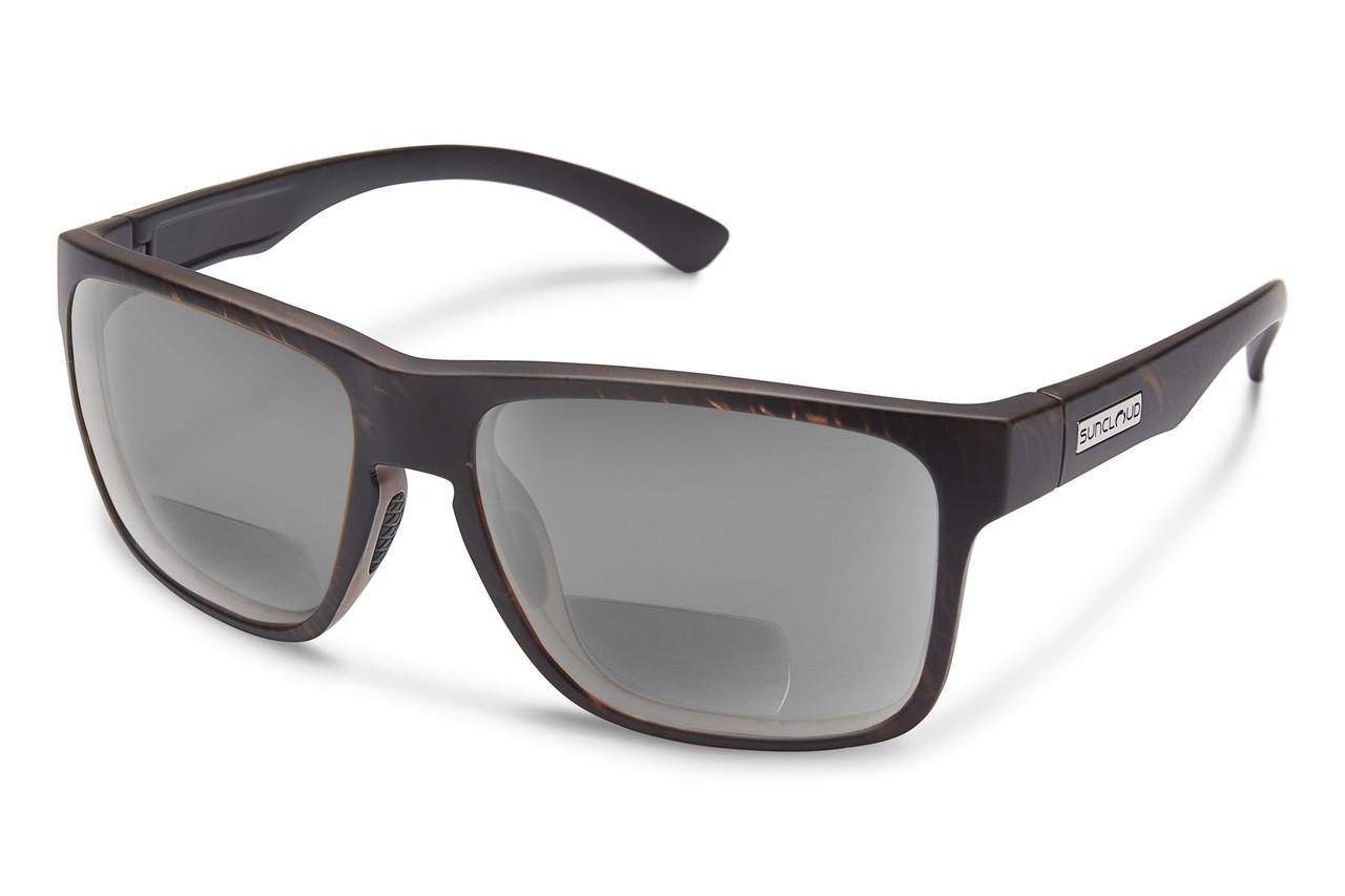 34f9688dbb Suncloud Rambler Polarized Bi-Focal Reading Sunglasses - Designer ...