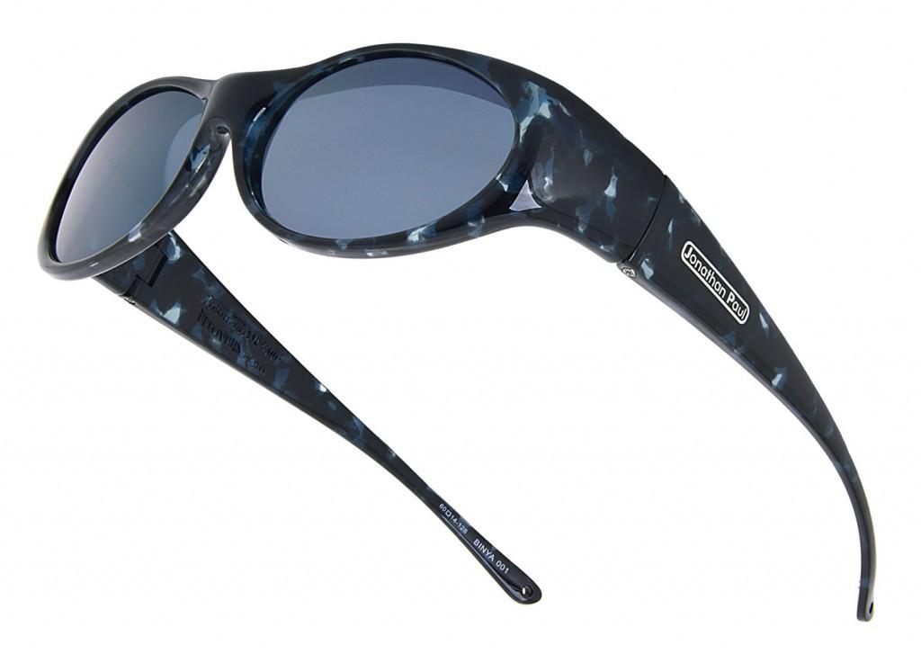 2dcf025de292 Jonathan Paul® Fitovers Eyewear Small Binya in Blue-Cloud & Gray BN001