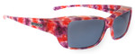 Jonathan Paul® Fitovers Eyewear Small Nowie in Berry-Crush & Gray NW002