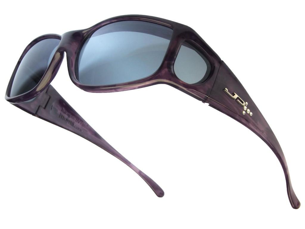 b9ee3226ae506 Jonathan Paul® Fitovers Eyewear Large Jett in Purple-Haze with Swarovski®  Crystals   Gray