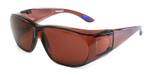 8533 Over Glasses UV Protection in Brown