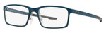 Oakley Designer Eyeglasses Milestone OX8038-0352 in Blue Steel 52mm :: Custom Left & Right Lens
