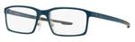 Oakley Designer Eyeglasses Milestone OX8038-0352 in Blue Steel 52mm :: Rx Bi-Focal