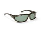 Haven Designer Fitover Sunglasses Hunter in Black & Polarized Grey Lens (LARGE)