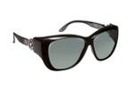 Haven Designer Fitover Sunglasses Manhattan in Black & Polarized Grey Lens (MEDIUM/LARGE)