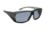 Haven Designer Fitover Sunglasses Breckenridge in Black & Polarized Grey Lens (MEDIUM/LARGE)