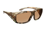 Haven Designer Fitover Sunglasses Breckenridge in Camo & Polarized Amber Lens (MEDIUM/LARGE)