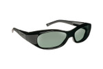 Haven Designer Fitover Sunglasses Avalon in Black & Polarized Grey Lens (SMALL)