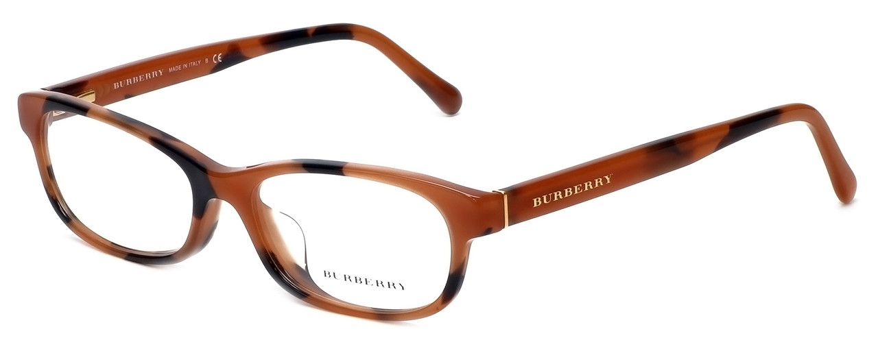 ad737e013e26 Burberry Designer Reading Glasses BE2202F-3518 in Spotted-Amber 54mm.  Loading zoom