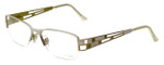 Cazal Designer Eyeglasses 4191-001 in White 53mm :: Custom Left & Right Lens
