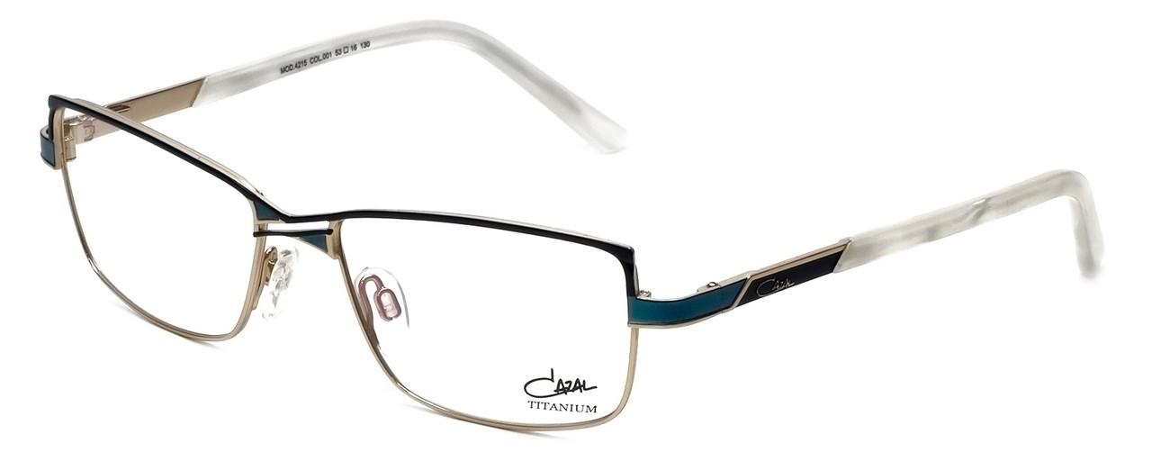 c7d3e895ee3 Cazal Designer Eyeglasses 4215-001 in Turquoise 53mm    Rx Bi-Focal ...