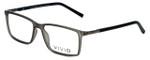 Calabria Viv Designer Eyeglasses 239 in Grey-Black 53mm :: Custom Left & Right Lens