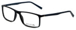 Calabria Viv Designer Eyeglasses 248 in Black-Blue 55mm :: Custom Left & Right Lens
