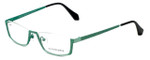 Eyefunc Designer Eyeglasses 505-72 in Green 51mm :: Custom Left & Right Lens