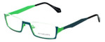 Eyefunc Designer Eyeglasses 530-72 in Teal & Green 50mm :: Custom Left & Right Lens