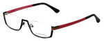 Eyefunc Designer Eyeglasses 591-69 in Black & Pink 52mm :: Rx Single Vision