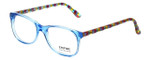 Eyefunc Designer Eyeglasses 8072-90 in Blue & Multi 49mm :: Rx Single Vision
