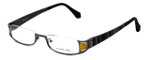 Eyefunc Designer Eyeglasses 327-54 in Yellow Glitter 50mm :: Progressive