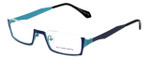 Eyefunc Designer Eyeglasses 530-65 in Purple & Blue 50mm :: Progressive