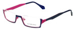 Eyefunc Designer Eyeglasses 530-90 in Blue & Pink 50mm :: Progressive