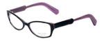Paul Smith Designer Eyeglasses PS297-BHPL in Black-Horn-Purple 52mm :: Custom Left & Right Lens