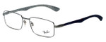 Ray-Ban Designer Reading Glasses RX8414-2502 in Silver 55mm