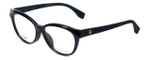 Fendi Designer Eyeglasses FF0044F-64H in Black 53mm :: Custom Left & Right Lens