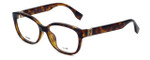 Fendi Designer Eyeglasses FF0068-EDJ in Havana 52mm :: Custom Left & Right Lens