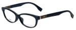 Fendi Designer Eyeglasses FF0072F-7SY in Black 53mm :: Custom Left & Right Lens