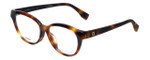 Fendi Designer Eyeglasses FF0044F-05L in Havana 53mm :: Rx Single Vision