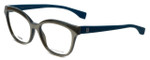 Fendi Designer Eyeglasses FF0044-MHP in Grey Teal 54mm :: Rx Single Vision