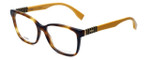 Fendi Designer Eyeglasses FF0055-7TA in Havana 54mm :: Rx Single Vision
