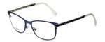 Fendi Designer Eyeglasses FF0036-XW9 in Matte Blue 52mm :: Progressive