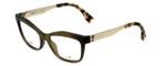 Fendi Designer Eyeglasses FF0050-MOK in Green Gold 53mm :: Progressive