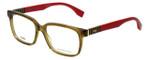 Fendi Designer Eyeglasses FF0056-MQZ in Olive 53mm :: Rx Bi-Focal