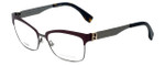 Fendi Designer Reading Glasses FF0052-MVN in Burgundy 53mm