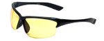 Sport Wrap Night Driving UV400 Sunglasses with HD Yellow Tint