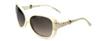 Christian Dior Designer Sunglasses Midnight-SBR in Ivory 60mm