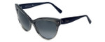 Christian Dior Designer Sunglasses Mohotani-E2J in Stripped-Grey 58mm