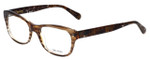 Vera Wang Designer Eyeglasses V339 in Nude-Horn 51mm :: Custom Left & Right Lens