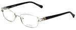 Vera Wang Designer Eyeglasses V343 in Silver 52mm :: Custom Left & Right Lens