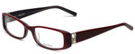 Vera Wang Designer Eyeglasses V355 in Burgundy 53mm :: Custom Left & Right Lens