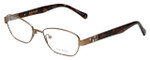 Vera Wang Designer Eyeglasses V335 in Gold 51mm :: Rx Single Vision