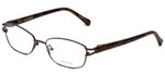 Vera Wang Designer Eyeglasses V343 in Brown 52mm :: Rx Single Vision