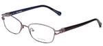 Vera Wang Designer Eyeglasses V343 in Lilac 52mm :: Rx Single Vision
