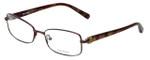 Vera Wang Designer Eyeglasses V336 in Burgundy 52mm :: Progressive