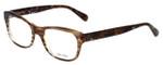 Vera Wang Designer Eyeglasses V339 in Nude-Horn 51mm :: Progressive