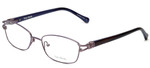 Vera Wang Designer Eyeglasses V343 in Lilac 52mm :: Progressive