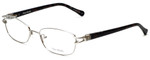 Vera Wang Designer Eyeglasses V343 in Silver 52mm :: Progressive